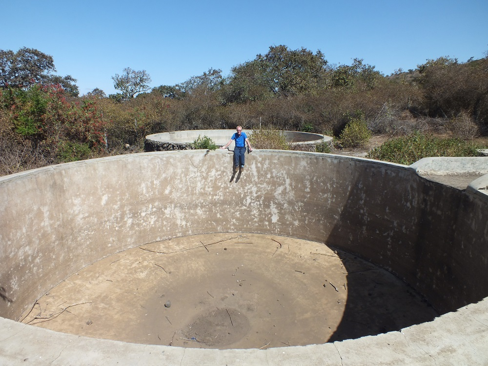 A water cistern